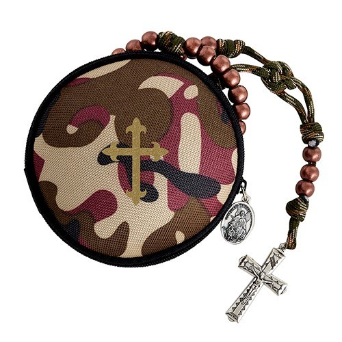CAMOUFLAGE ROSARY CASE