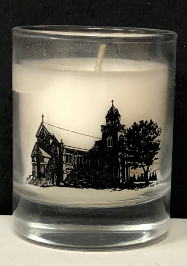 NATIONAL SHRINE OF THE DIVINE MERCY VOTIVE CANDLE