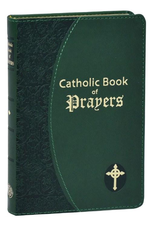CATHOLIC BK OF PRAYERS GRN
