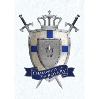 CHAMPIONS OF THE ROSARY PRAYERCARD