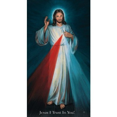 CHAPLET OF THE DIVINE MERCY, HYLA PRAYER CARD