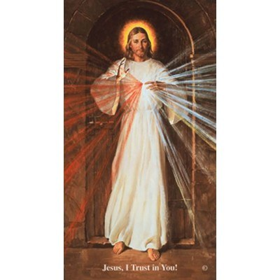 CHAPLET OF THE DIVINE MERCY, SKEMP PRAYERCARD