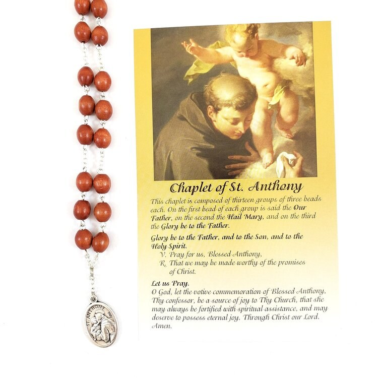 CHAPLET OF ST ANTHONY