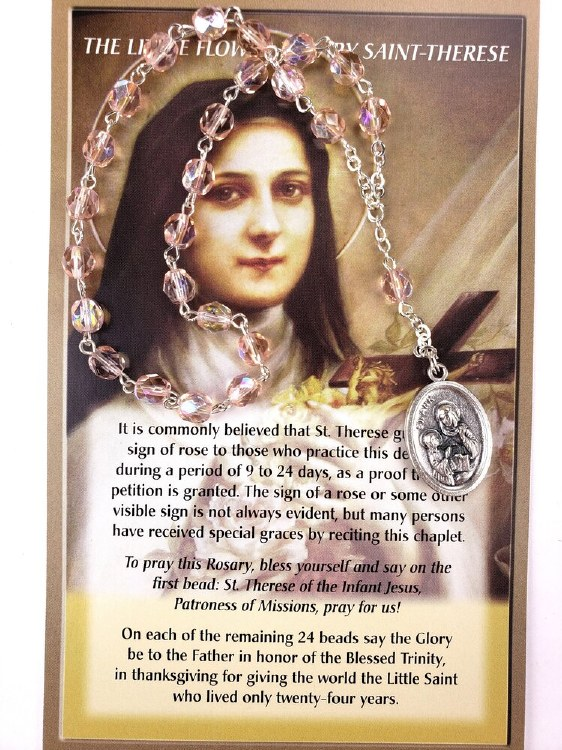 CHAPLET OF ST THERESE