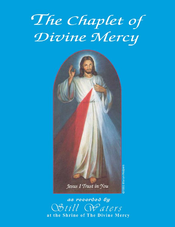 CHAPLET OF DIVINE MERCY SHEET MUSIC - STILL WATERS