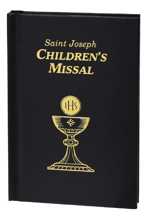 CHILDREN'S MISSAL BLACK COVER