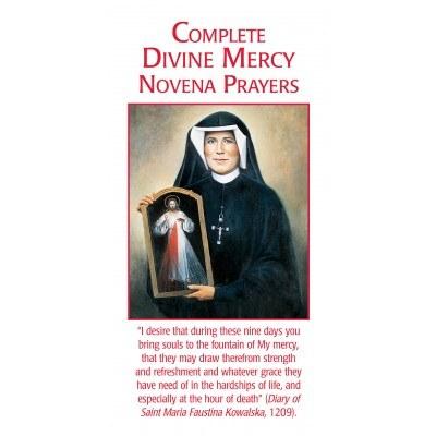 COMPLETE DIVINE MERCY NOVENA PRAYERS PAMPHLET