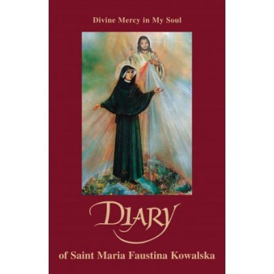 DIARY ST FAUSTINA SOFT COVER