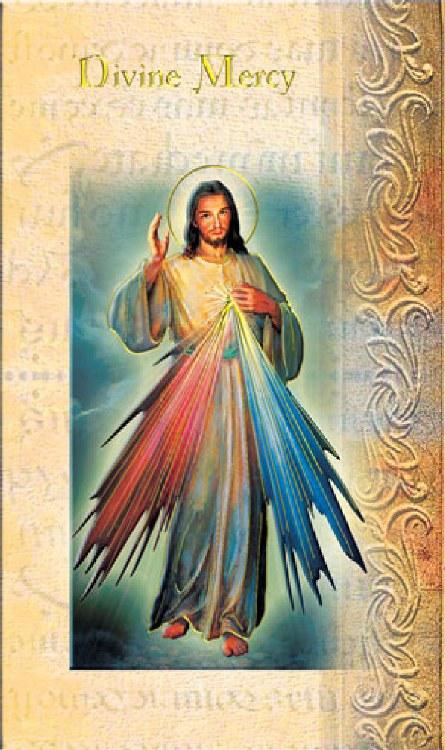 DIVINE MERCY BIO BOOKLET