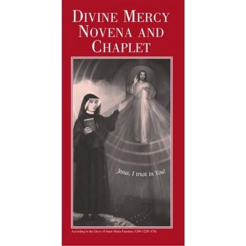 DIVINE MERCY NOVENA & CHAPLET PAMPHLET