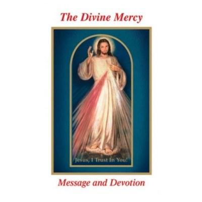 DIVINE MERCY MESSAGE & DEVOTION LARGE PRINT