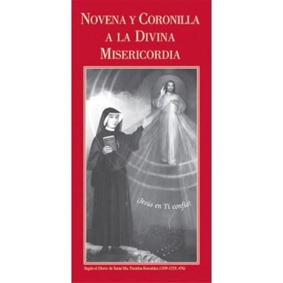 SPANISH DIVINE MERCY NOVENA & CHAPLET PAMPHLET