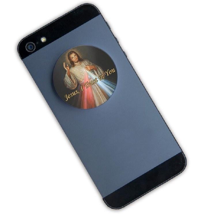DIVINE MERCY POP-UP PHONE HOLDER