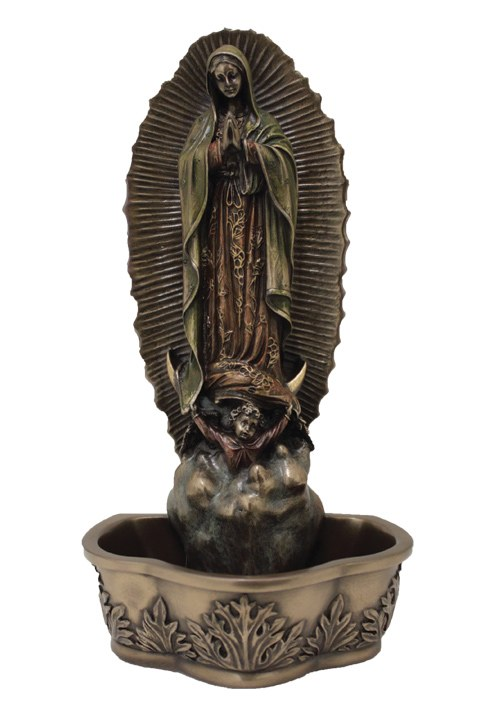 GUADALUPE HOLY WATER FONT