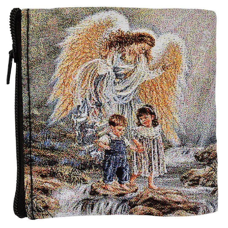 GUARDIAN ANGEL ROSARY POUCH