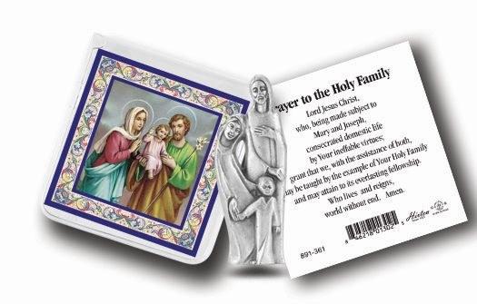 HOLY FAMILY POCKET STATUE