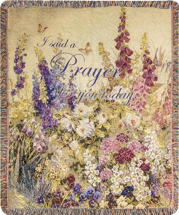 I SAID A PRAYER FOR YOU 50X60 THROW