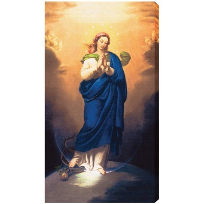IMMACULATE CONCEPTION 10X18 CANVAS GALLERY - WRAPPED PRINT