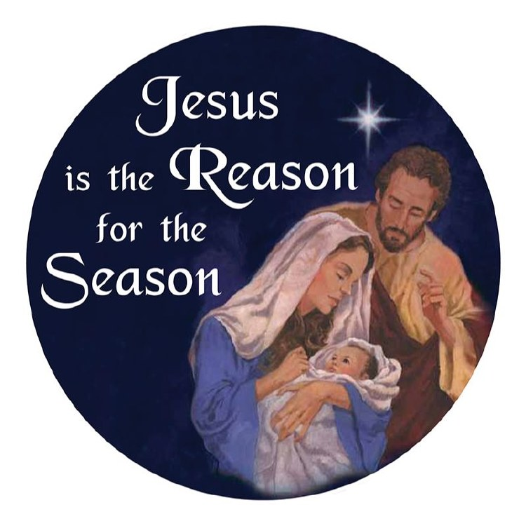 JESUS IS THE REASON AUTO MAGNET
