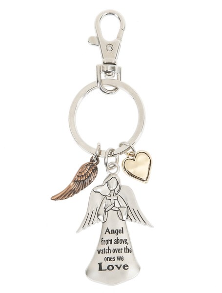 ANGEL FROM ABOVE WATCH OVER THE ONES WE LOVE KEY CLIP