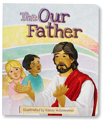 BOARD BOOK THE OUR FATHER