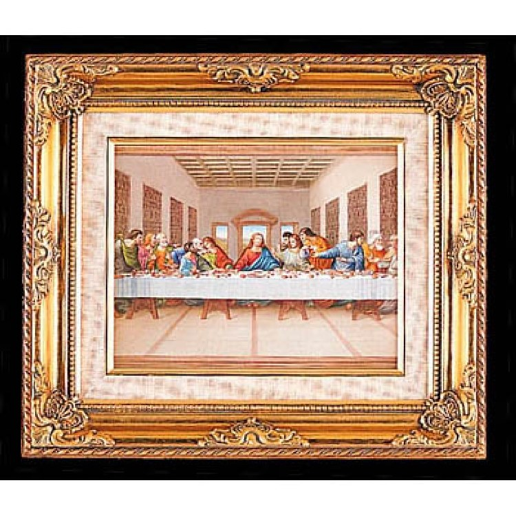 LAST SUPPER GOLD FRAME