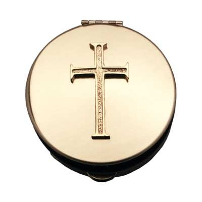 "LATIN CROSS PYX 1/2""x2&7/8"""