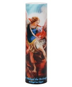 SAINT MICHAEL LED CANDLE