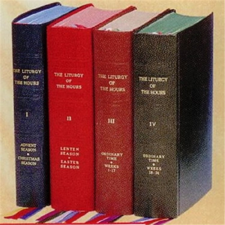 LITURGY OF THE HOURS SET OF 4