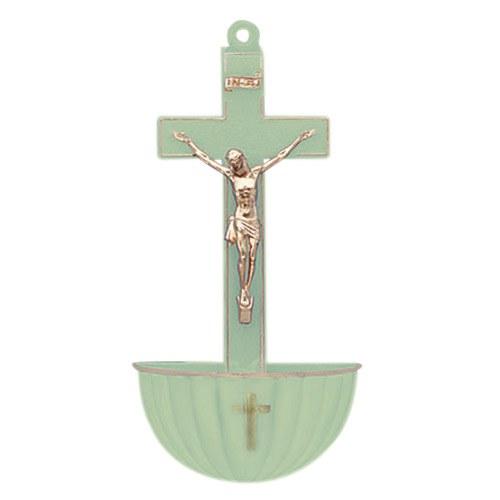 LUMINOUS PLASTIC HOLY WATER FONT