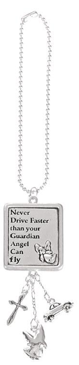 MIRROR HANGER NEVER DRIVE FASTER