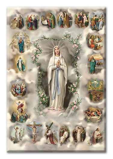 MYSTERIES OF THE ROSARY MAGNET