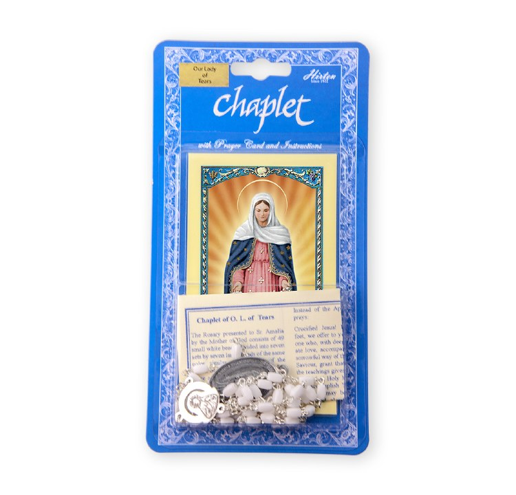 OUR LADY OF TEARS CHAPLET