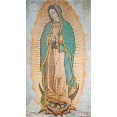 OUR LADY GUADALUPE PAPER PRAYERCARD