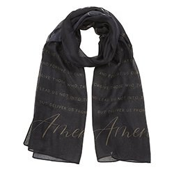 PRAYER SCARF - OUR FATHER PRAYER