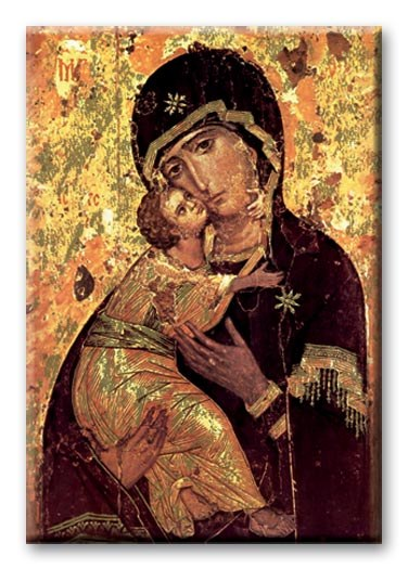 OUR LADY OF VLADMIR MAGNET