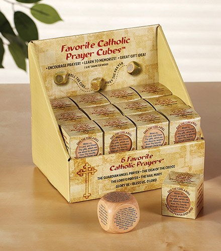 PRAYER CUBE SIX FAVORITE CATHOLIC PRAYERS