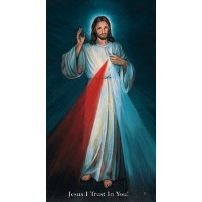 PRAYER FOR DIVINE MERCY, HYLA PAPER PRAYERCARD