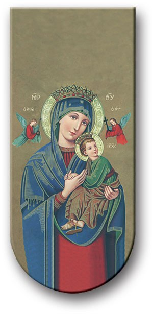 PRAYER TO OUR LADY OF PERPETUAL HELP MAGNETIC BOOKMARK