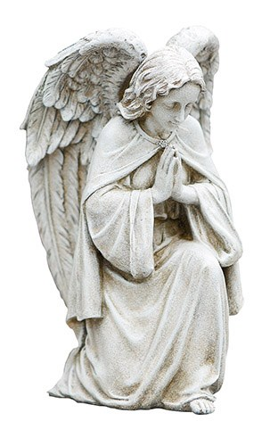 Garden Praying Angel Statue Divine, Angel Outdoor Statues