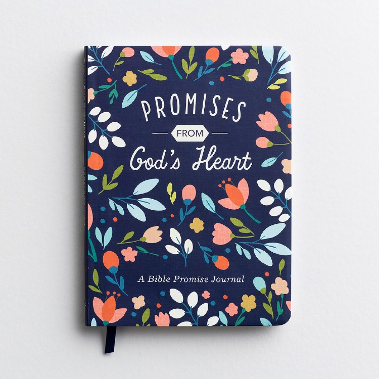 PROMISES FROM GOD'S HEART - A BIBLE PROMISE JOURNAL