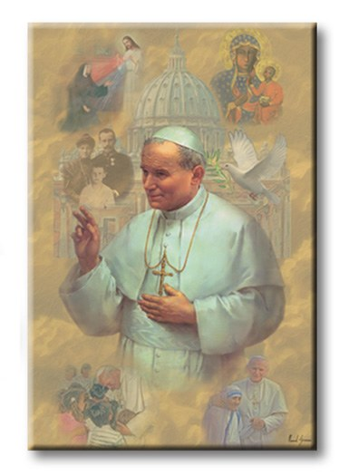 BLESSED JOHN PAUL II MAGNET