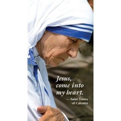 MOTHER TERESA PAPER PRAYERCARD