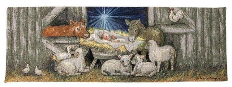 SHEEP NATIVITY RUNNER