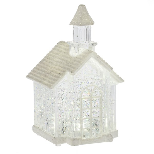 LIGHT LED MINI SHIMMER CHURCH