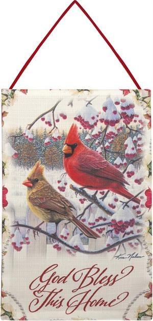 SONGBIRD WINTER CARDINAL BANNER
