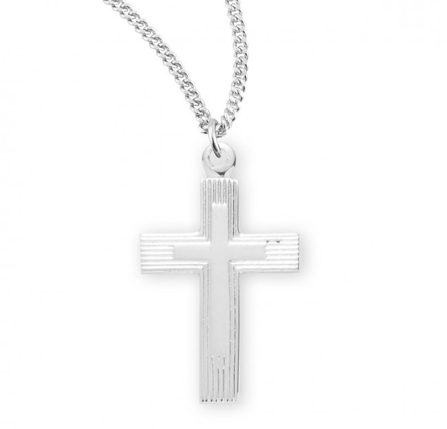 SS ENGRAVED CROSS