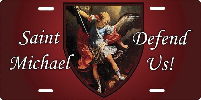 St. Michael License Plate