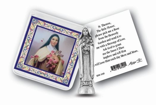 ST. THERESE POCKET STATUE