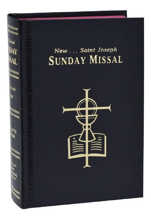 SUNDAY MISSAL/ BLACK